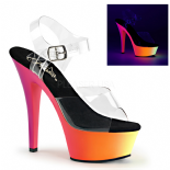 Scarpe Pleaser Rainbow-208UV/C/NMC